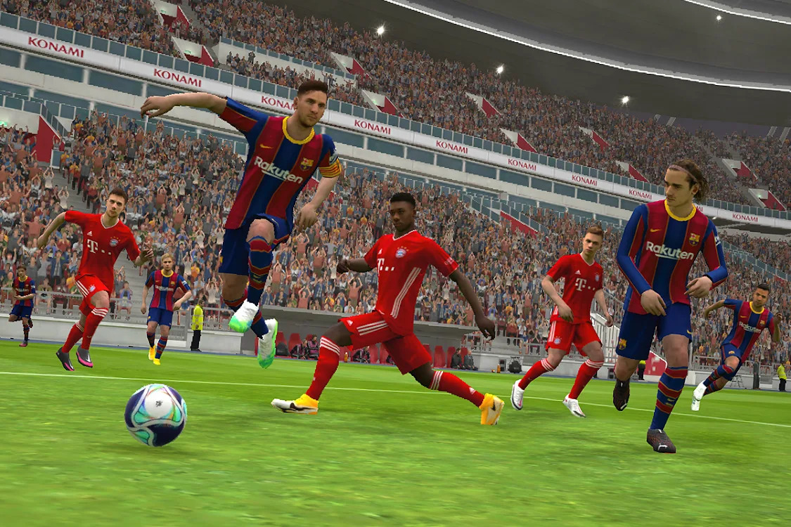 تحميل لعبة PES 2021 للأندرويد آخر اصدار مجانا