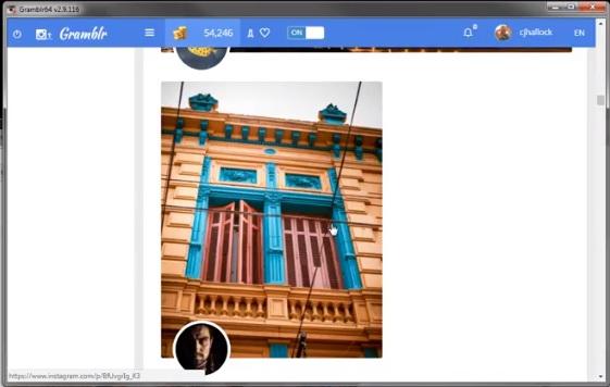 تحميل برنامج gramblr لرفع الصور من الكمبيوتر الى الانستقرام