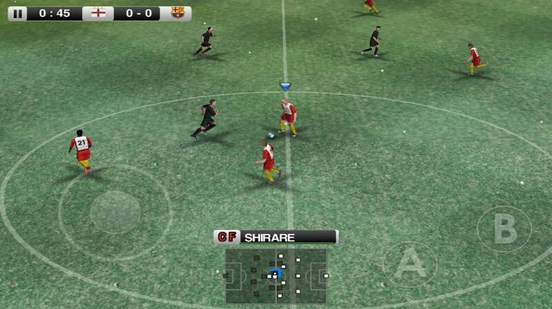 تحميل لعبة كرة القدم WINNING ELEVEN2012